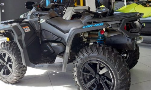 Can-Am Outlander Max 850 XT, 2021, Rotax V-twin 850, 2 lugares, off-road