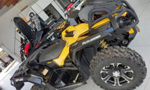 Can-Am Outlander Xmr 1000, Rotax V-Twin, 2 lugares, off-road